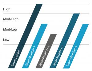 ProfileXT Team Report chart