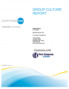 Everything DiSC Group Culture Report