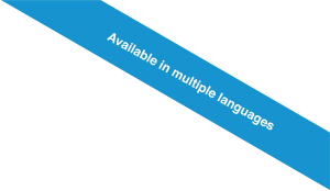 Available in multiple languages