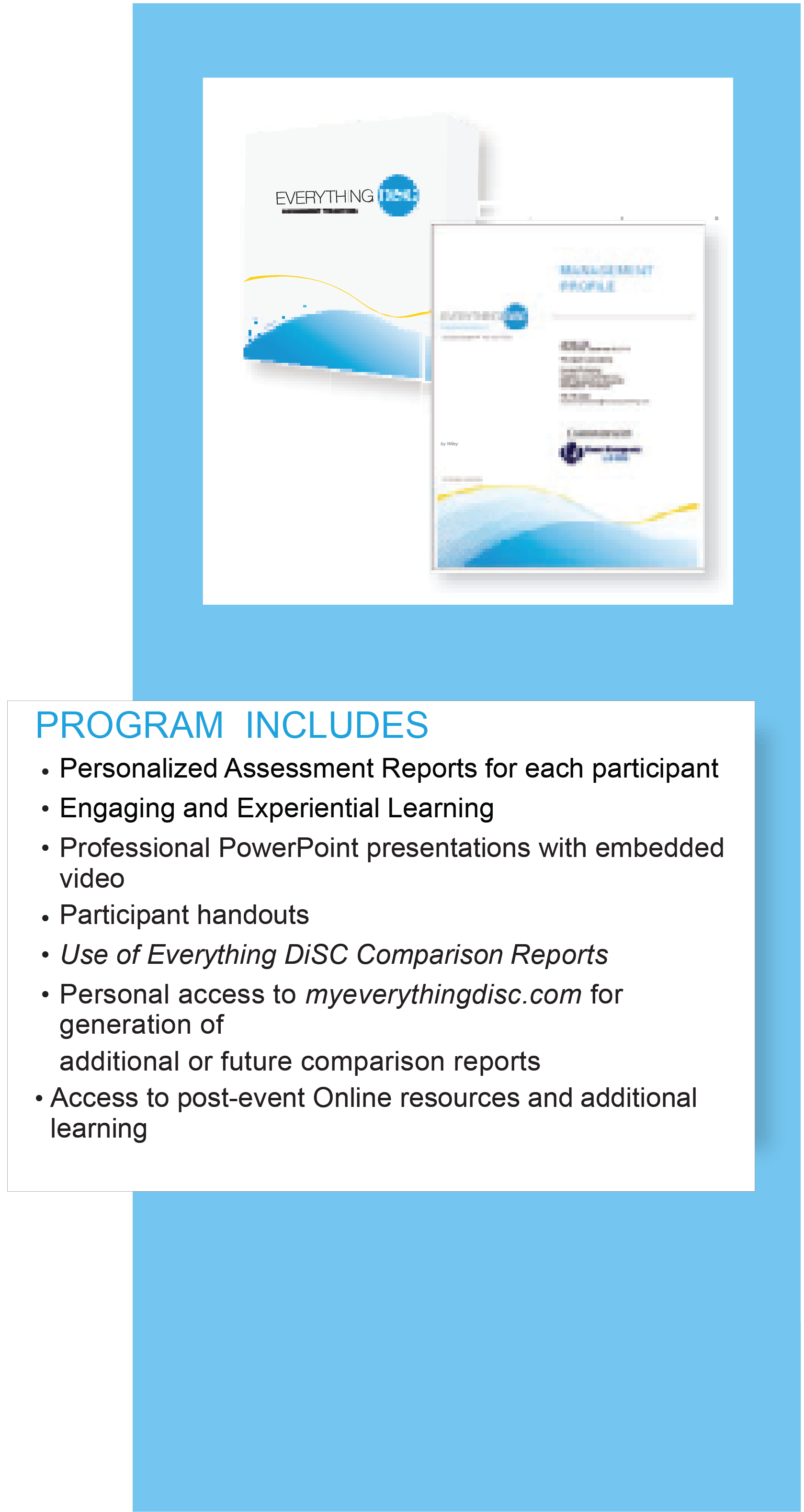 Program Features